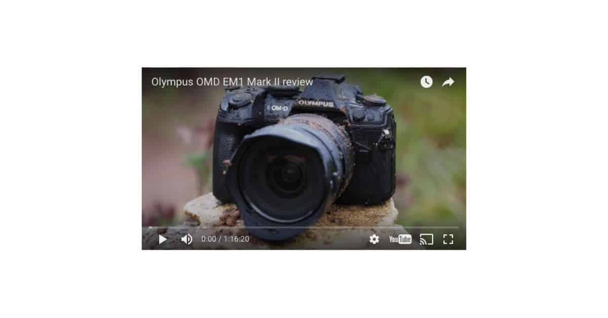 CameraLabs Reviews the OMD E-M1 Mark II