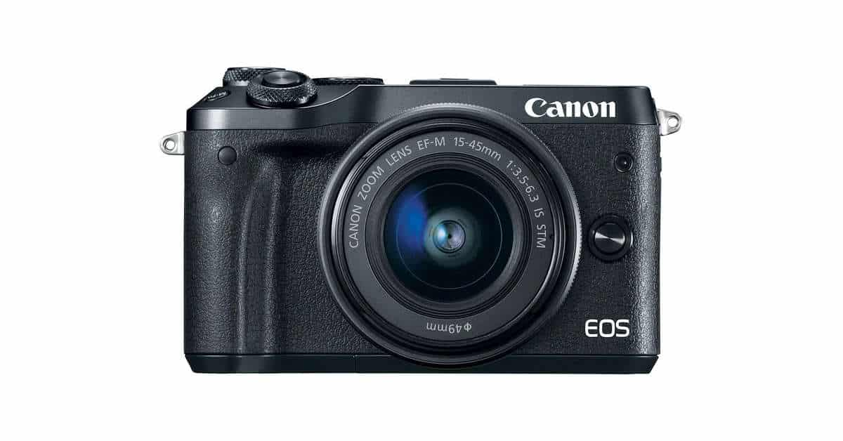 Canon Announce the EOS M6 Mirrorless Camera