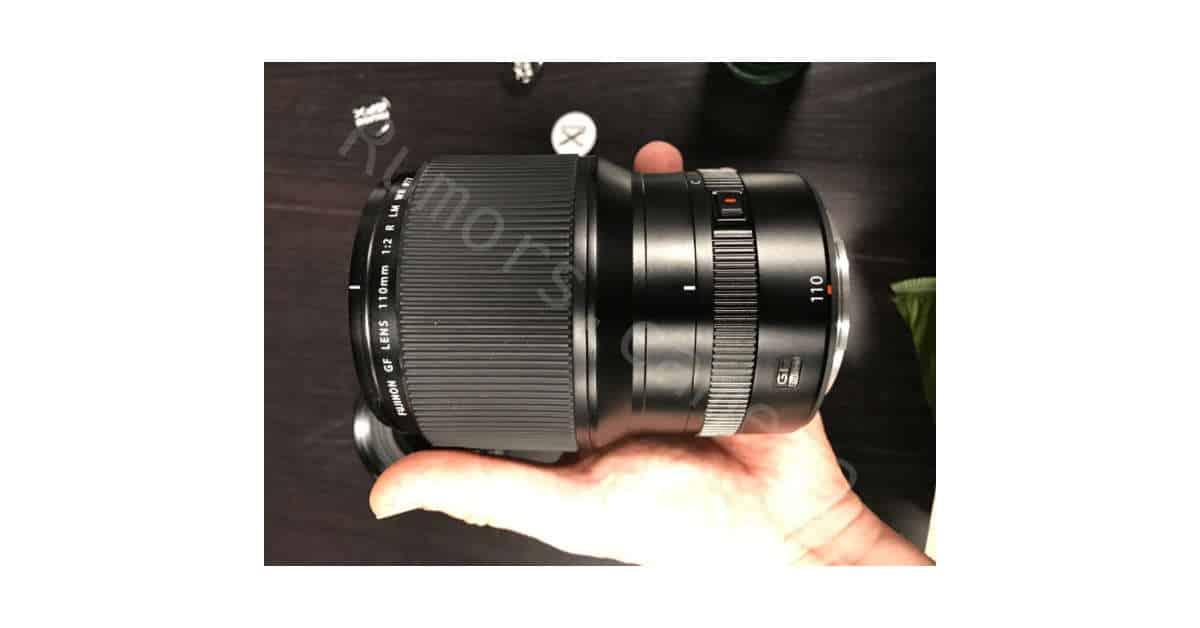 Fuji GF 110mm F/2.0 lens Coming in May
