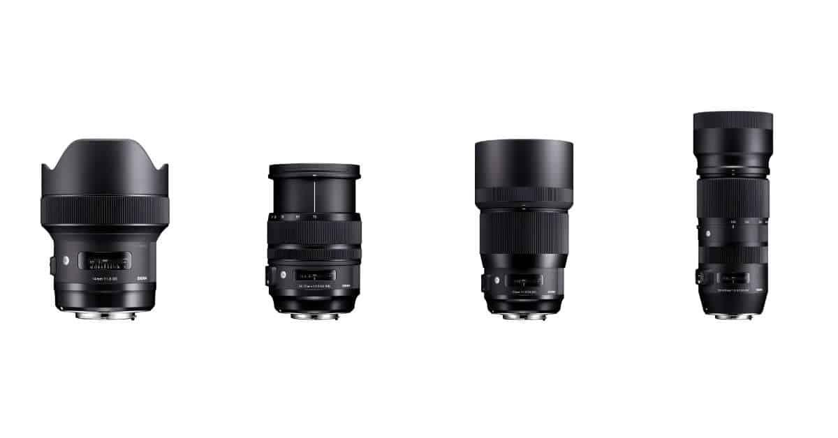 Sigma Announces Four Full Frame Lenses for CP+!