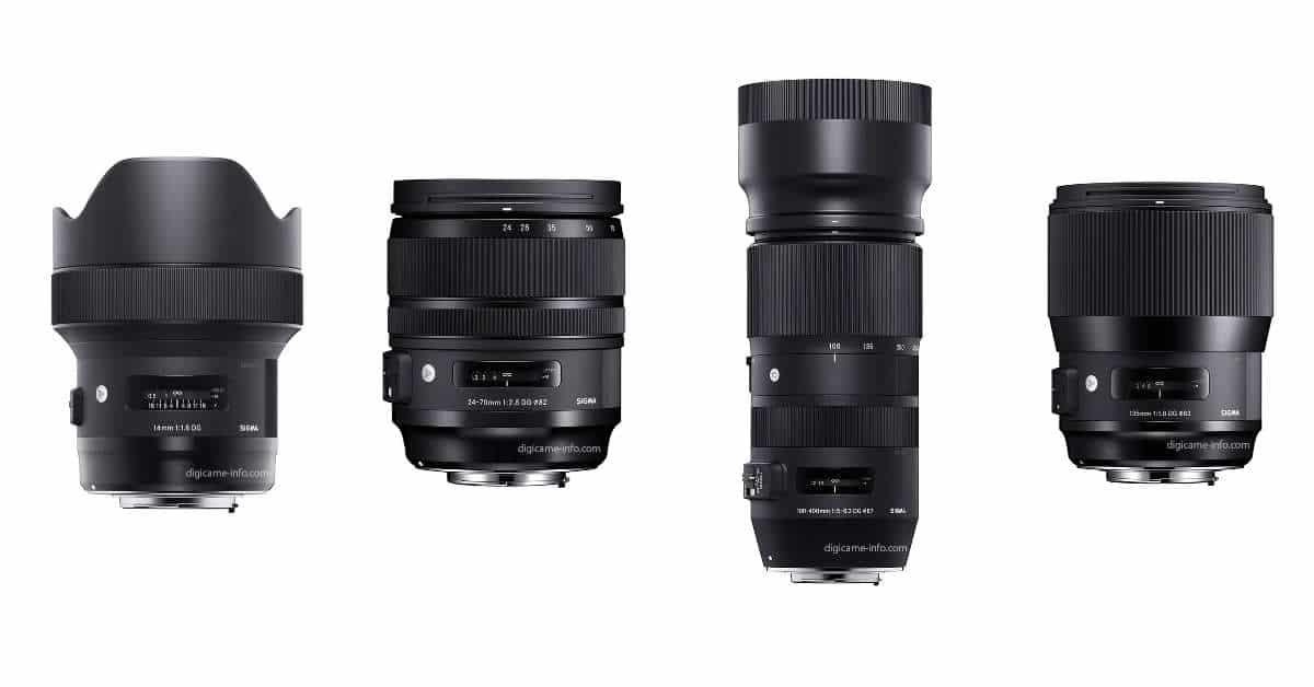 Images of new Sigma Lenses Leak!