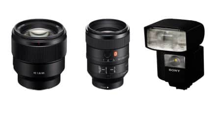 Sony Announce the FE 100mm f/2.8 STF GM OSS, FE 85mm f/1.8 and HVL-F45RM Wireless Radio Flash