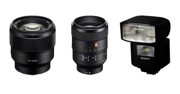 Pre-Order the new Sony FE 100mm F2.8 STF GM OSS, FE 85mm F1.8, and HVL-F45RM