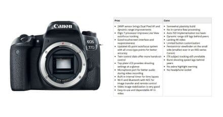 DPReview On the EOS 77D