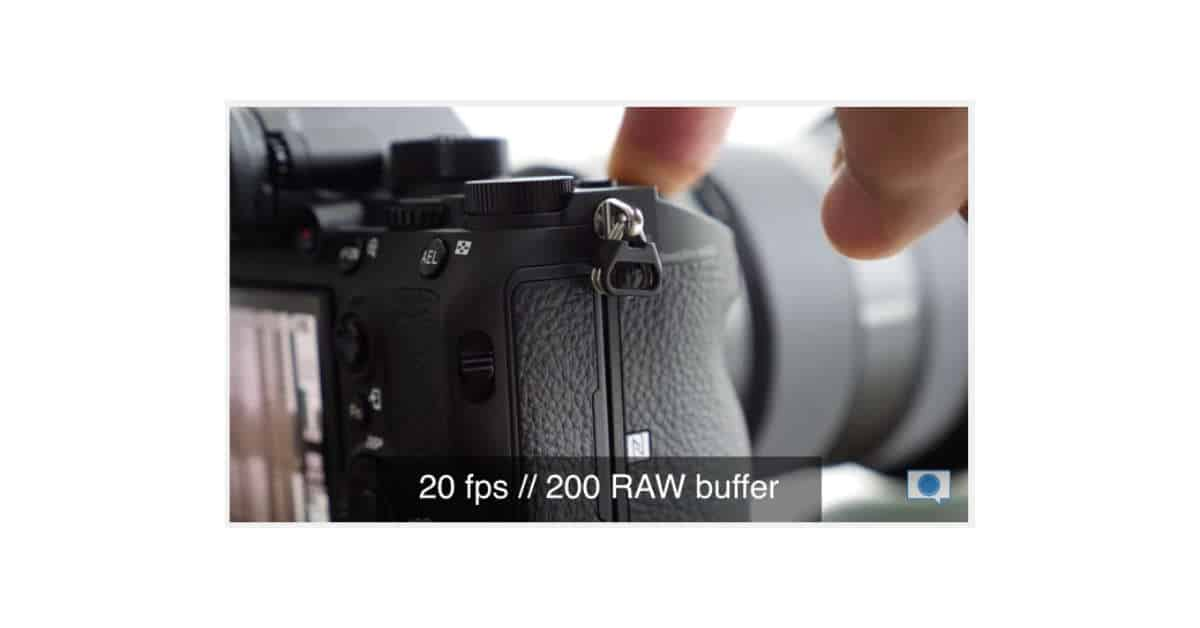 The A9 Electronic Shutter is Crazy Quiet at 20FPS!