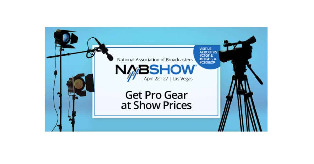 B&H Photo NAB 2017 Specials