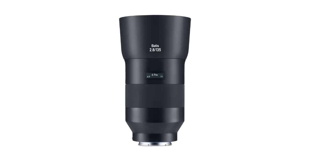 Zeiss Announce the Batis 135mm f/2.8 Lens for Sony E-mount Cameras