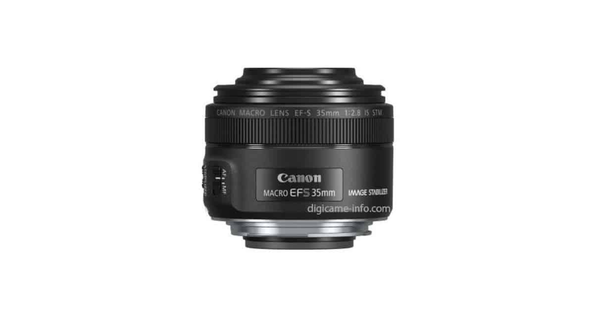 First Canon EF-S 35mm f/2.8 Macro IS STM Image & Specs Leak