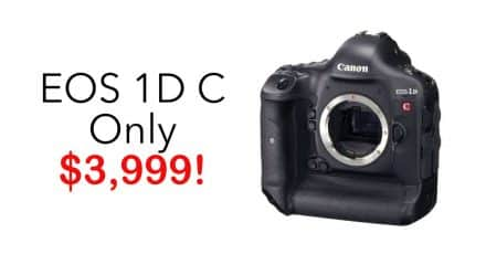 EOS 1D C Reduced to $3,999!