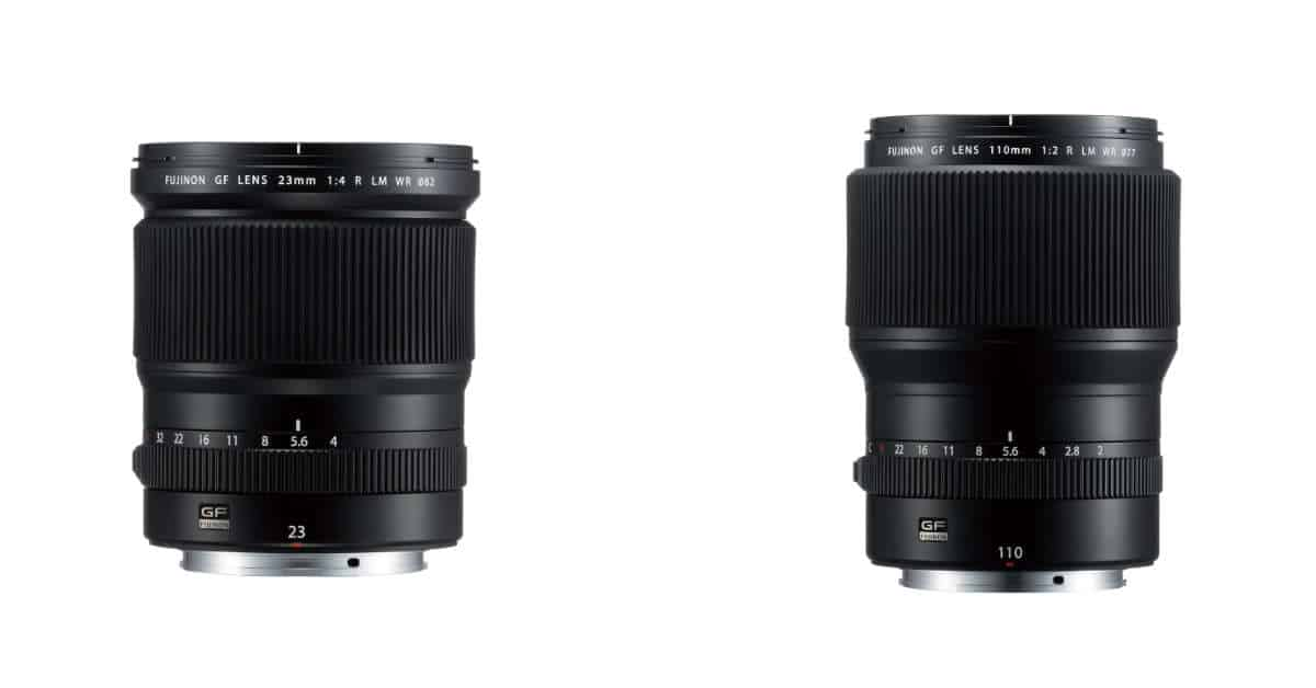 Fujifilm Announce GF23mm F4, GF 110mm F2, and Updated GF Roadmap!
