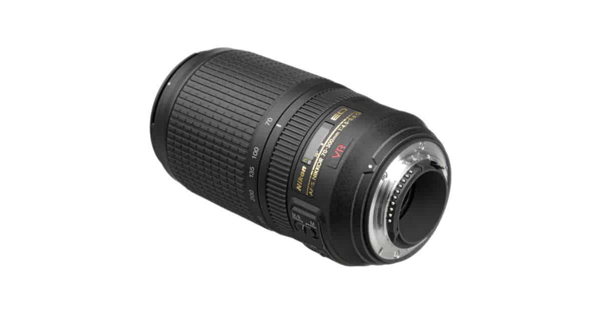 Nikon  to Announce Nikkor AF-P 70-300mm f/4.5-5.6 VR lens Soon?