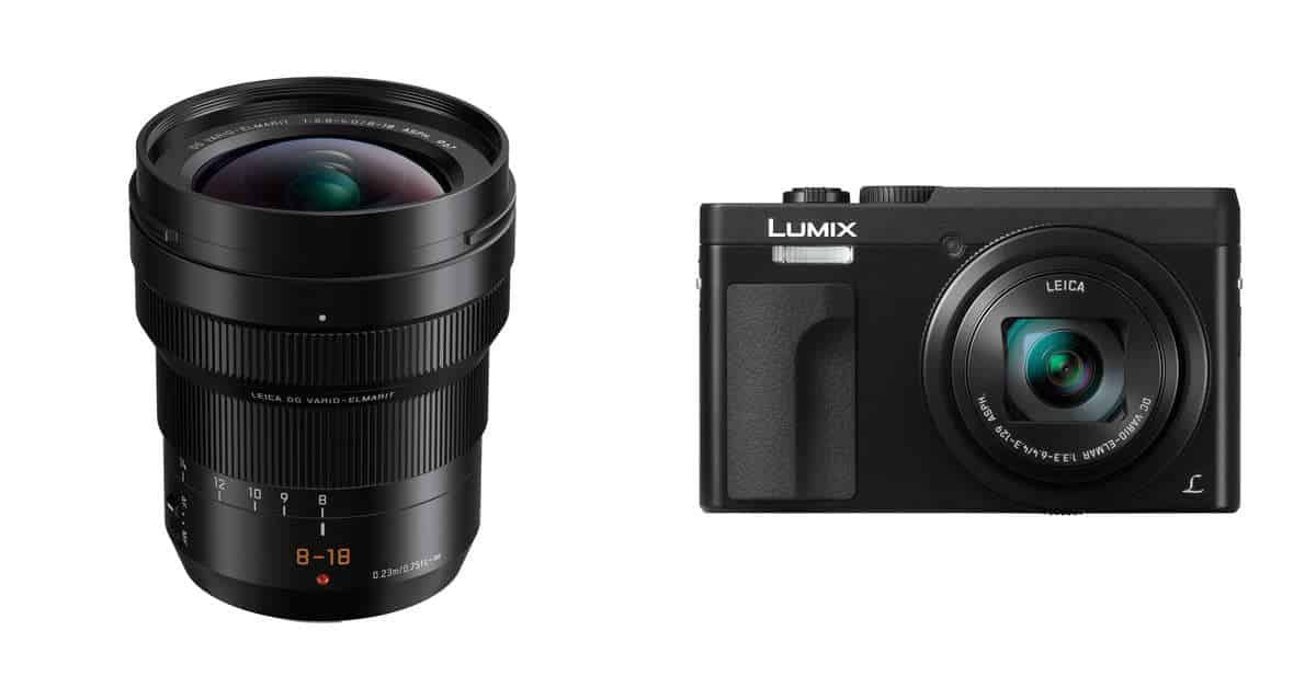 Just Announced! Panasonic Leica DG Vario-Elmarit 8-18mm f/2.8-4 ASPH. Lens and Lumix DMC-ZS70 and GH5 Firmware Update!