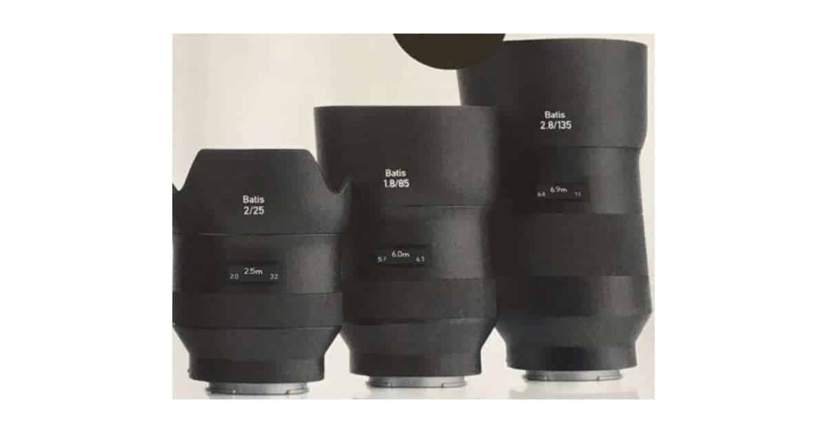 First Photo of the Zeiss Batis 135mm f/2.8 Leaks!