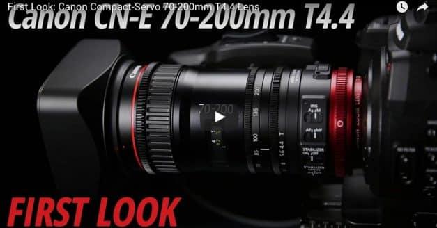 Canon CN-E 70-200 T4.4 Video Leaked