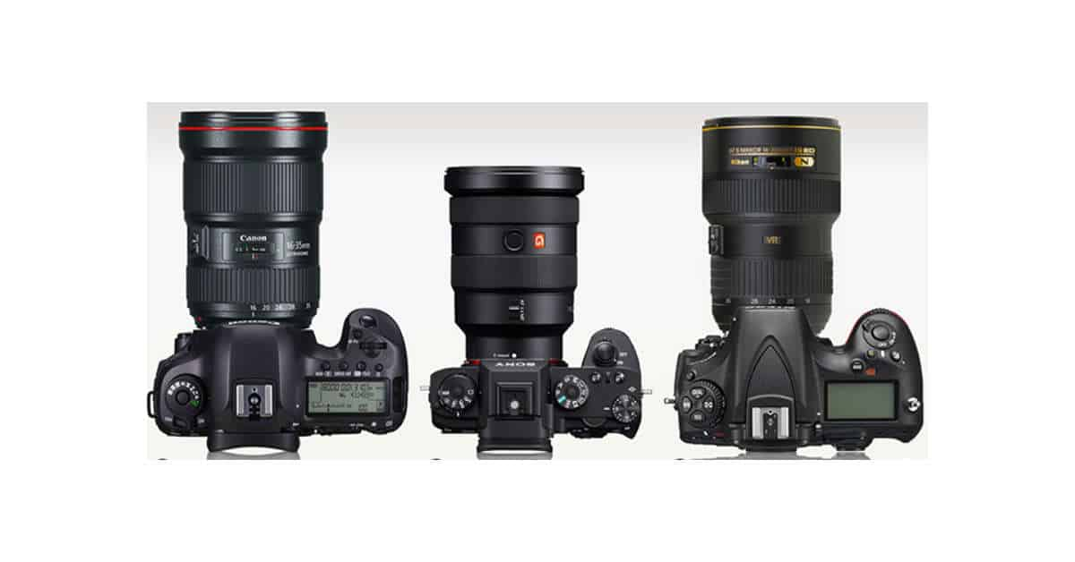 Sony 16-35mm f/2.8 GM size comparison Highlights Mirrorless Size Advantage