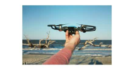 DJI Unveil the Tiny Spark Drone!