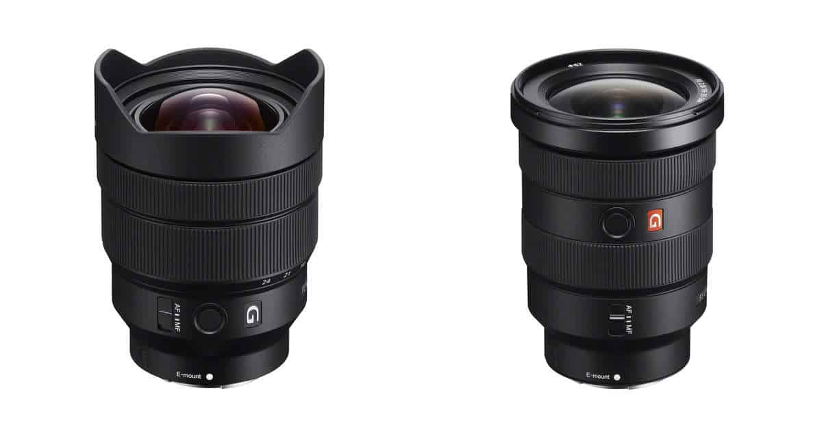 Sony Announce the Sony FE 12-24mm f/4 G and Sony FE 16-35mm f/2.8 GM Lenses