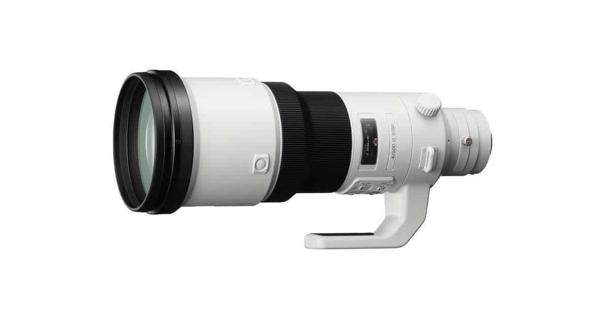 Sony Developing an FE 400mm Telephoto Prime Lens