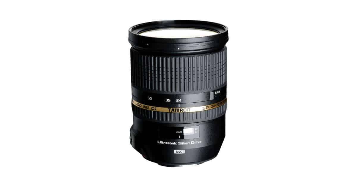Tamron to Announce 24-70mm f/2.8 Di VC USG V2