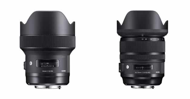 SIGMA 14MM F/1.8 DG ART AND 24-70MM F/2 DG OS ART Pre-Orders are Live!