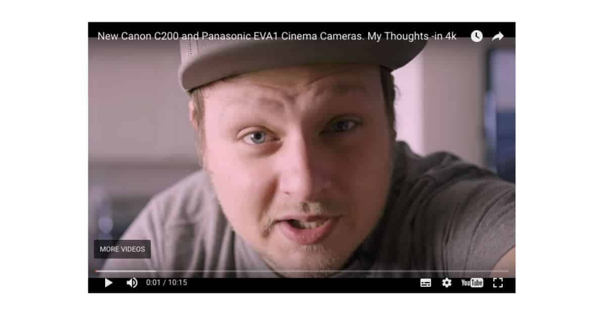 Comparing the Canon Cinema EOS C200 and the Panasonic AU-EVA1 With Lee Zavitz