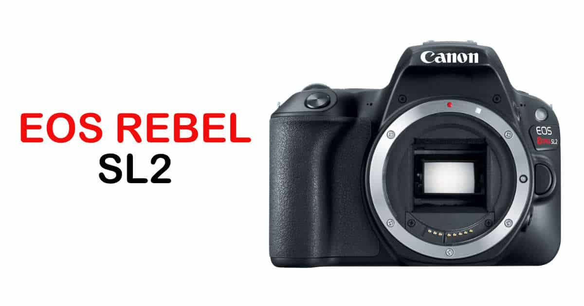 Canon  Unveil the EOS 200D / Rebel SL2