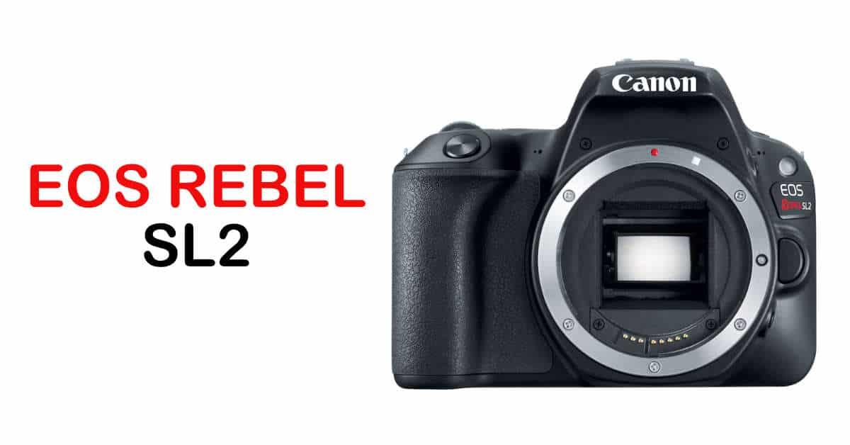 Now in Stock: Canon EOS Rebel SL2