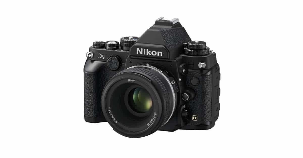 Nikon Df + 50mm Lens Kit, Now Only $1,899!