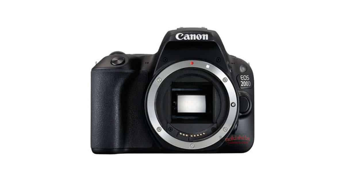 EOS 200D / Rebel SL2 Leaked!