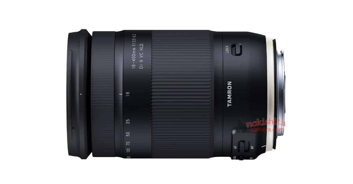 Tamron 18-400MM F/3.5-6.3 VC HLD Leaks!