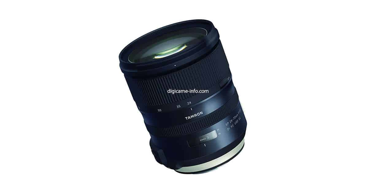 Tamron SP 24-70mm f/2.8 Di VC USD G2 Images Leaked!