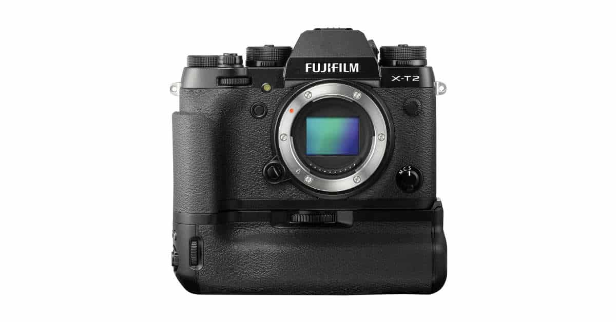 Save $230 on the Fujifilm X-T2 Mirrorless Digital Camera Body with VPB-XT2 Battery Grip!