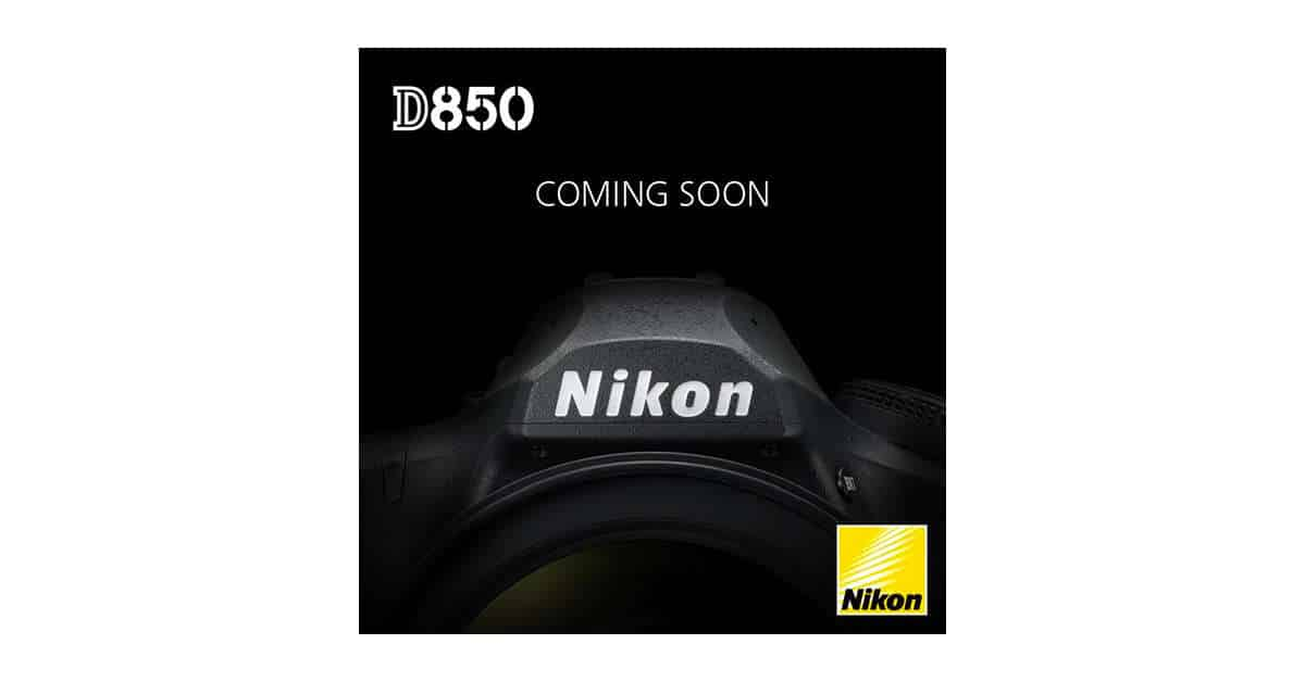 First Glimpse of the D850 Appears