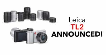 Leica Officially Announce the TL2