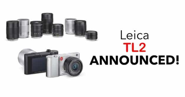 Leica Officially Announce the TL2