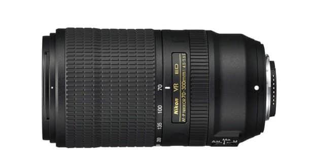 Nikon AF-P Nikkor 70-300mm f/4.5-5.6 ED VR Lens Announced