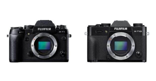Fuji X-T1 and X-T10 Discontinued