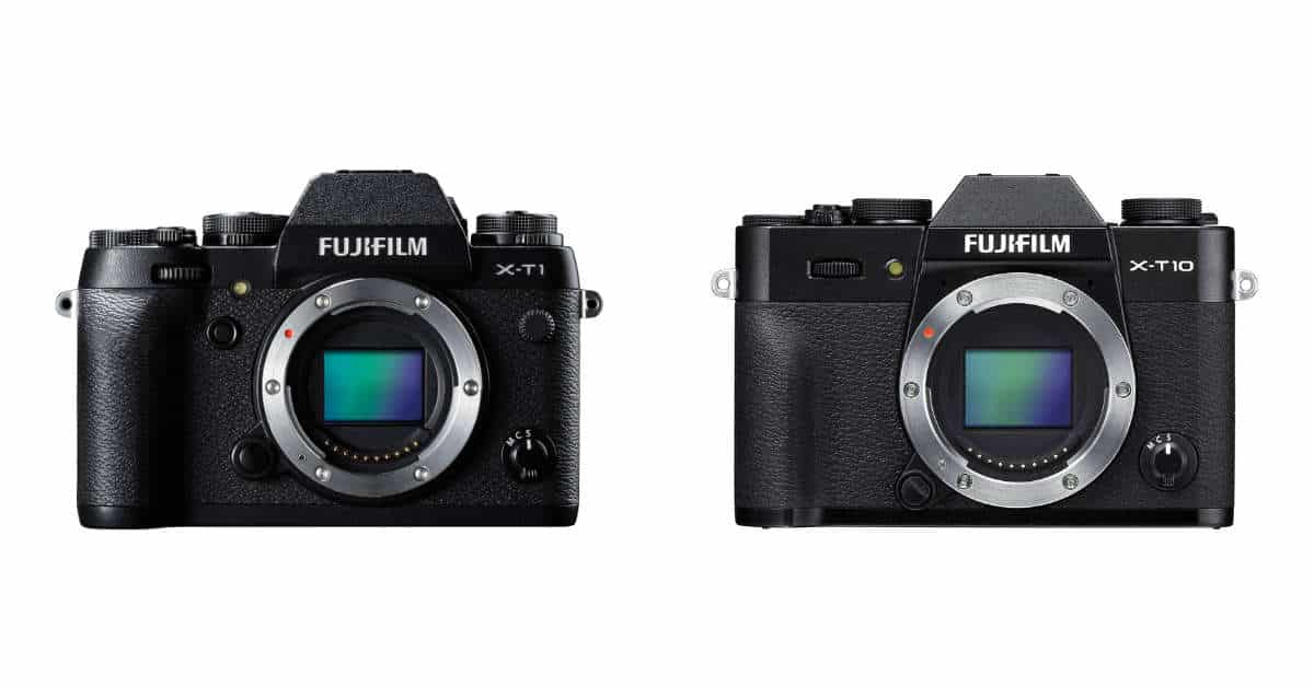 Fuji X-T1 and X-T10 Discontinued
