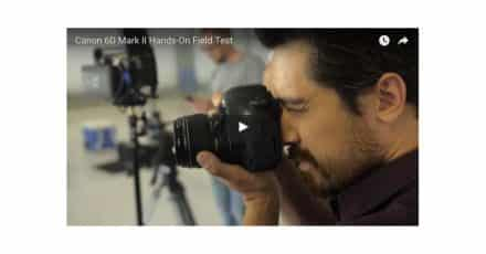 EOS 6D Mark II Test With TheCameraStoreTV