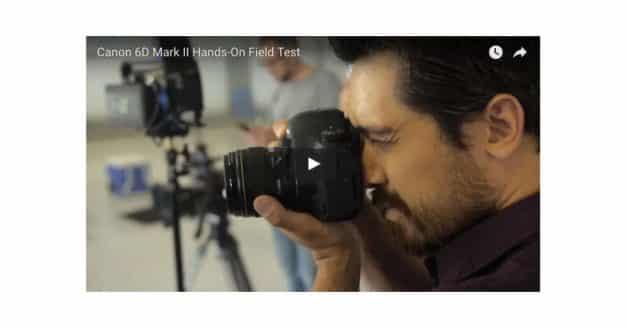 EOS 6D Mark II Test With TheCameraStoreTV