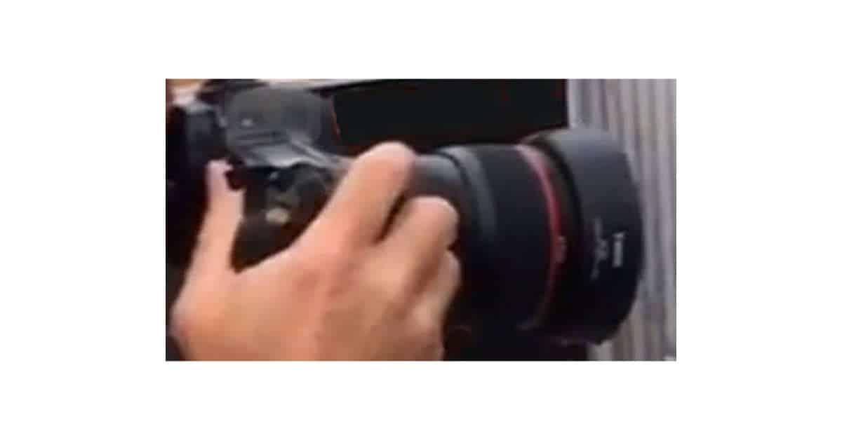 Is This One of the New Canon Tilt-Shift Lenses?