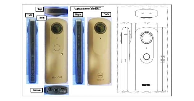 Latest Ricoh Theta Camera Surfaces