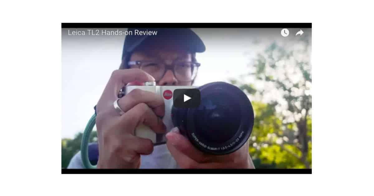 Kai Tests the Leica TL-2