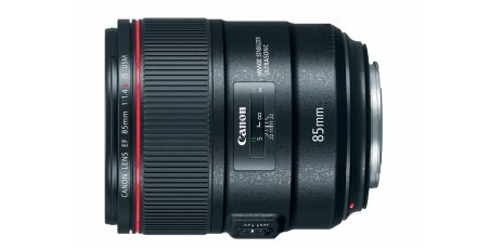 Canon Unveils 85mm f/1.4 L IS Lens
