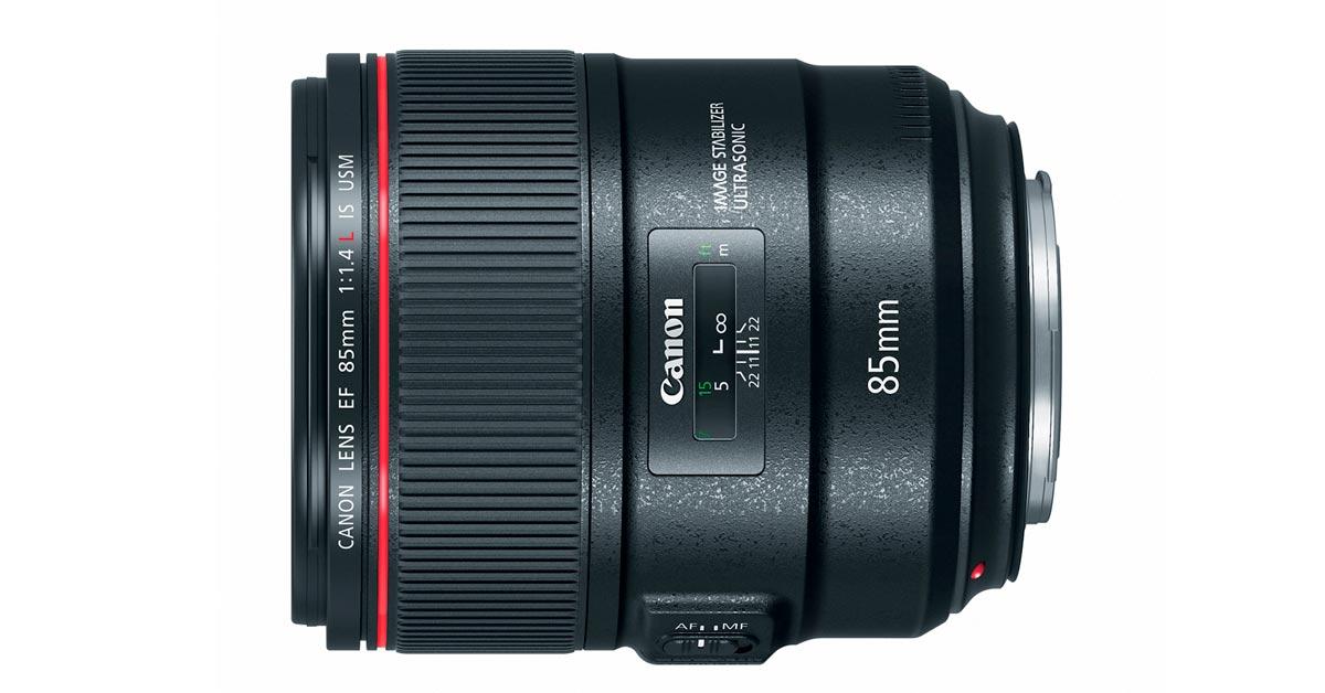 Canon Unveils 85mm f/1.4 L IS Lens