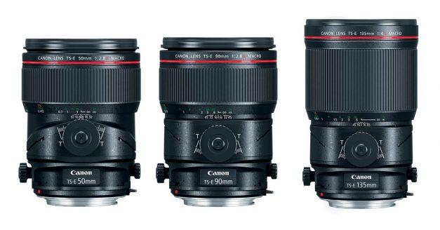 Trio of New Canon Tilt-Shift Macro Lenses Launched
