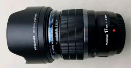 PHOTO LEAK: Olympus 17mm f/1.2 PRO Lens