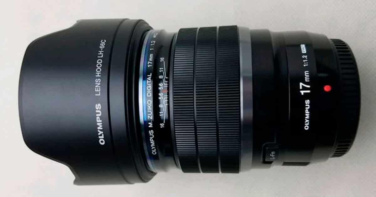 PHOTO LEAK: Olympus 17mm f/1.2 PRO Lens