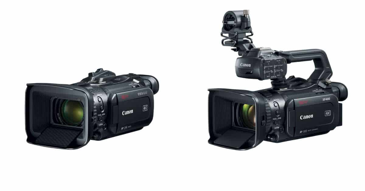Canon Announces Three new Camcorders (Again)