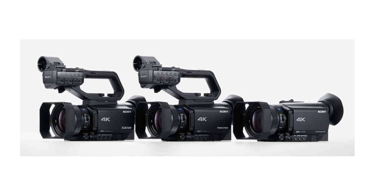Three Sony Camcorders Leaked!